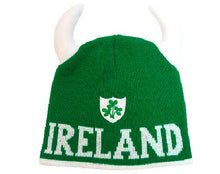 Load image into Gallery viewer, IRELAND SHAMROCK SHEILD CAPS/HATS Cara Craft GREEN
