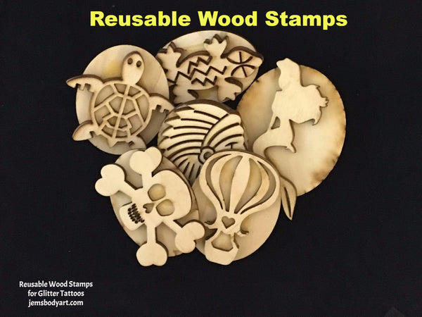 WOW - 10 Wood Stamp Bundle