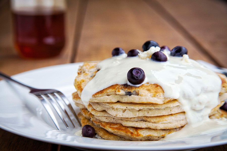 Ricotta and Berry Hotcakes