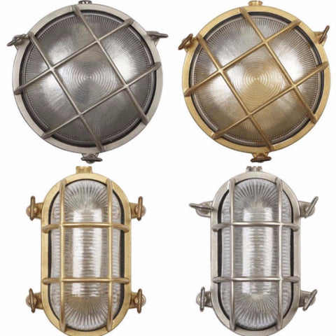 Circular and Oval Bulkhead lights