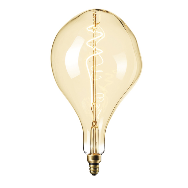 XXL Gold Finish Organic LED Lamp
