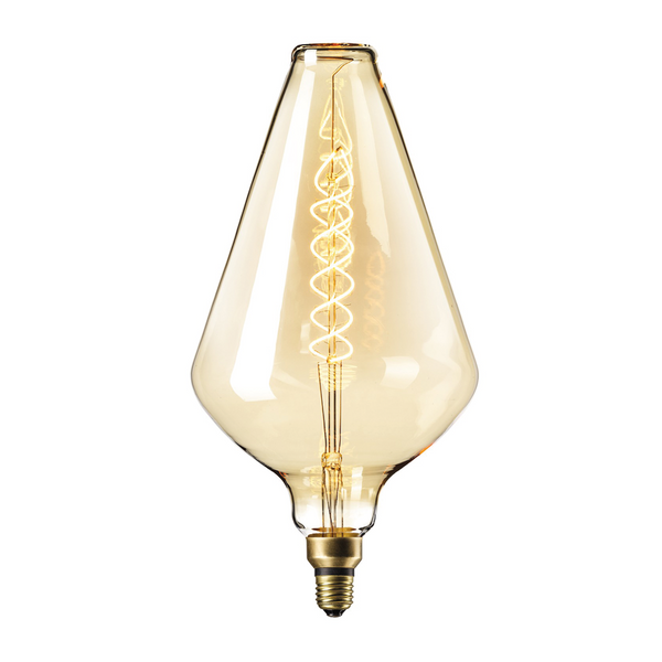 XXL Gold Finish Vienna LED Lamp E27