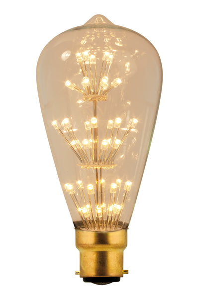 Rustic LED Pearl Filament Lamp B22