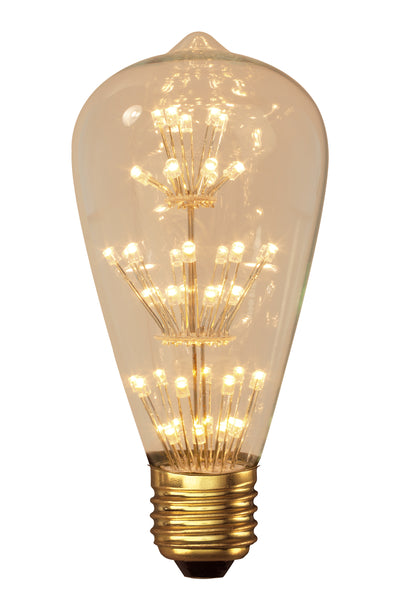 Rustic LED Pearl Filament Lamp E27
