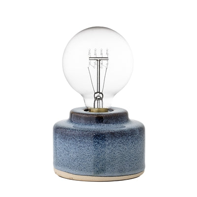Blue Porcelain Table Lamp