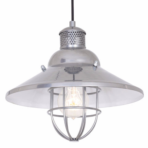 Ships Pendant Light Chrome