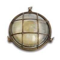 Bulkhead Porthole - Small Antique Brass