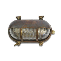 Bulkhead Eyelid - Antique Brass