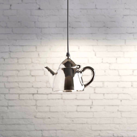 Teapot ceiling light pendant