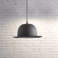 Bowler Hat Ceiling Light