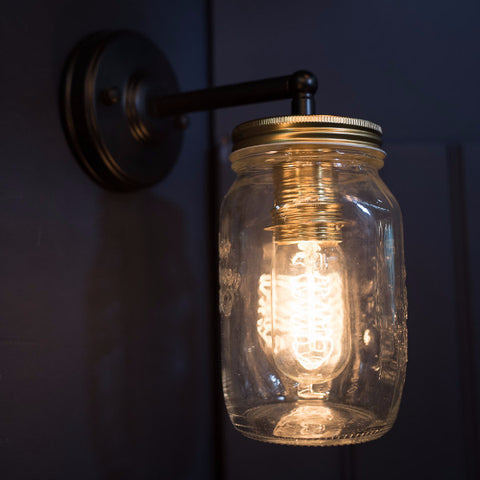 Preserve Jar Wall Light