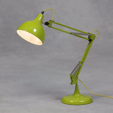 Extra large desk floor lamp lime green duma home ltd traditional desk lamp lime green aloadofball Images