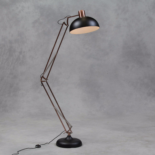 Extra Large Desk Floor Lamp - Black