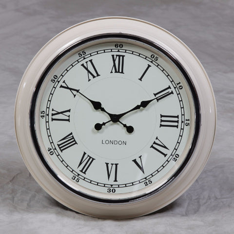 "Modern Wall Clock ""London"" - Black/White"