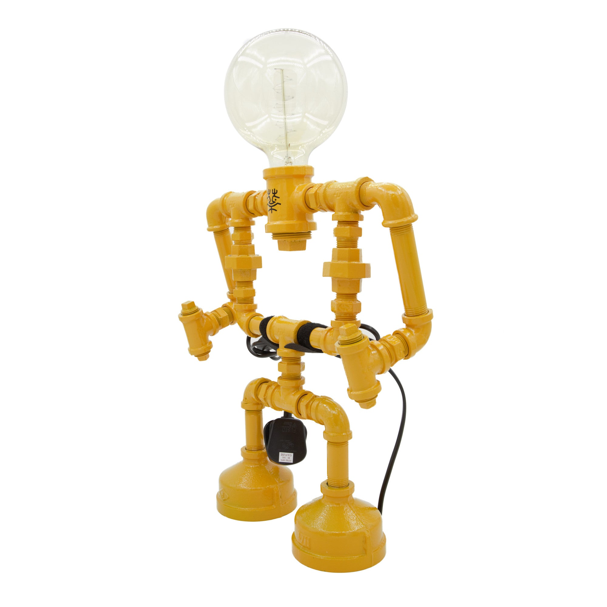 Touch Sensitive Robot Table Lamp - Large