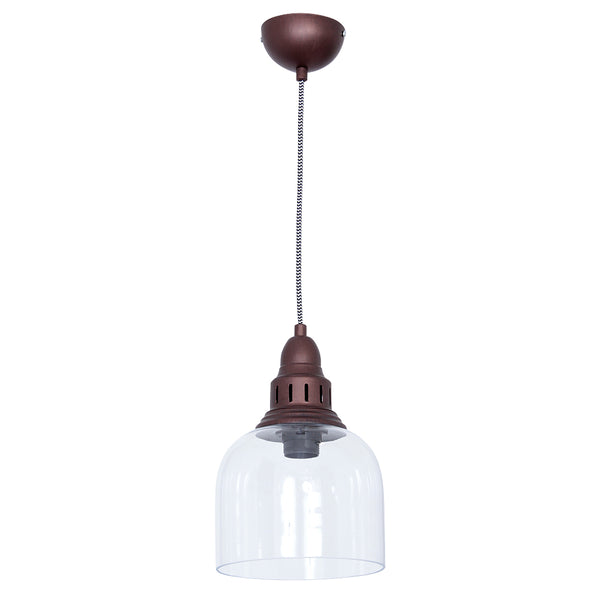 Whitechapel Ceiling Light - Burnished Copper
