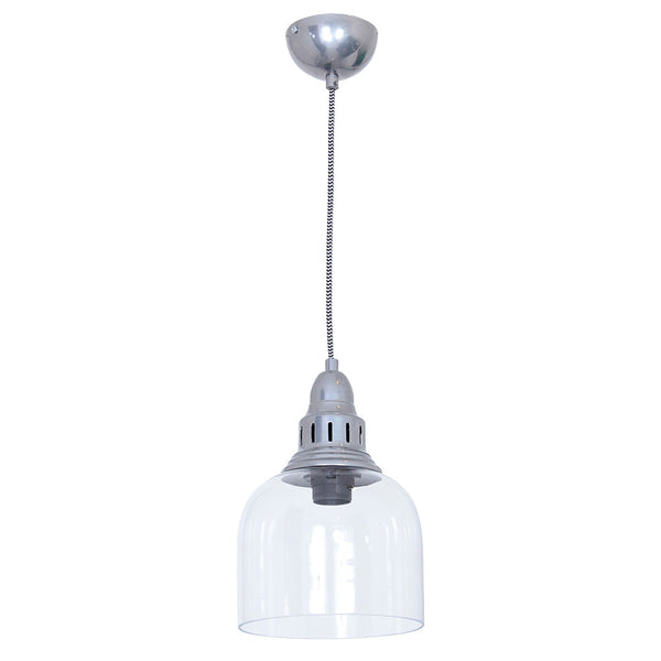 Whitechapel Ceiling Light Dull Chrome