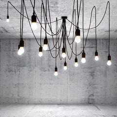 Maman 14 Light Bulb Ceiling Light