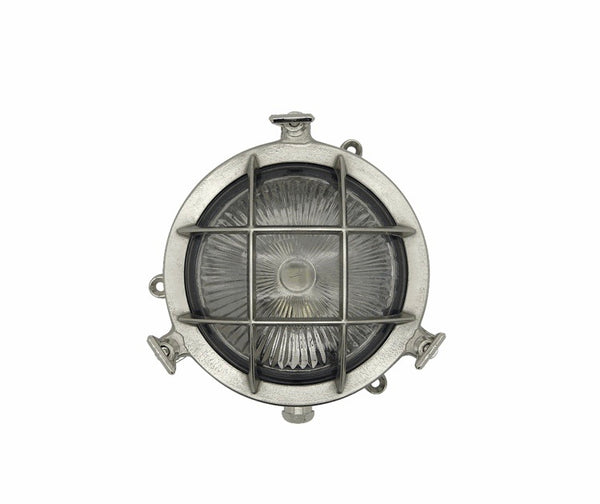 Bulkhead Porthole Mini - Satin Nickel