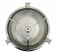 Bulkhead Porthole Trident - Polished Nickel