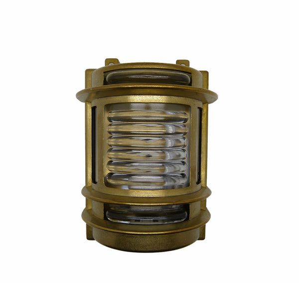 Nautical Brass Wall Light - Brass