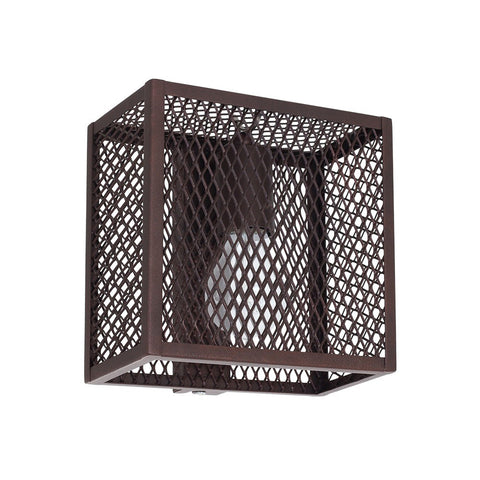 Single Caged Wall Lamp