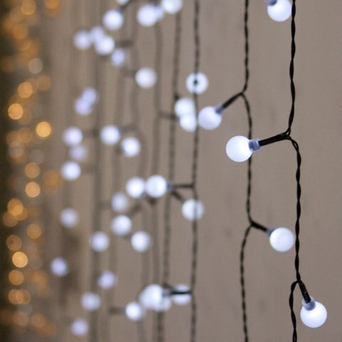 Marble String of Lights - White