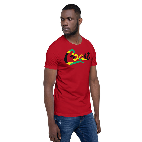 Jamaican Coast Short-Sleeve Unisex T-Shirt
