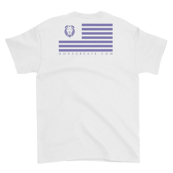 Purple Drip Coast Short-Sleeve T-Shirt