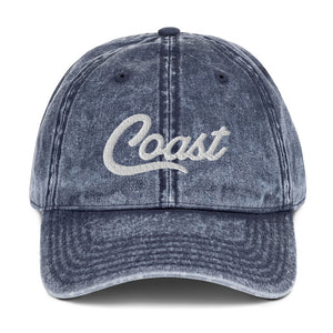 Coast Vintage Cotton Twill Cap