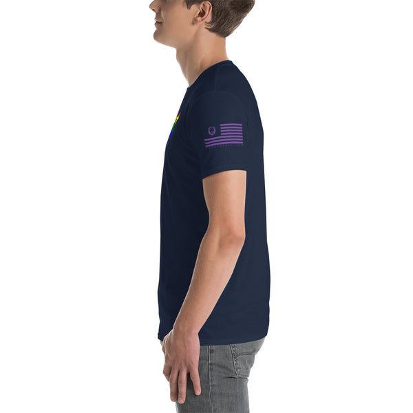 PRIDE COAST Short-Sleeve Unisex T-Shirt