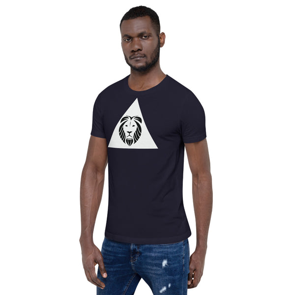 GodsCreate Pyramid Short-Sleeve Unisex T-Shirt