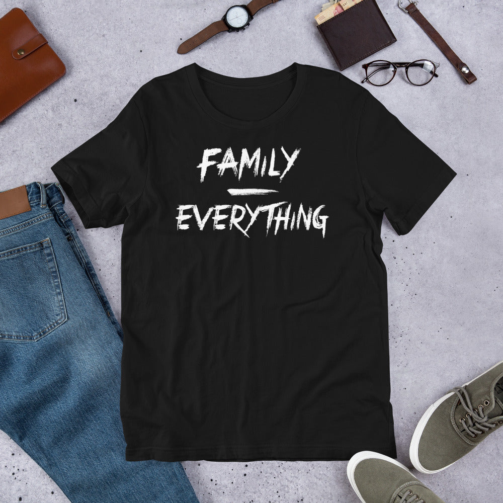 Family Over Everything Short-Sleeve Unisex T-Shirt