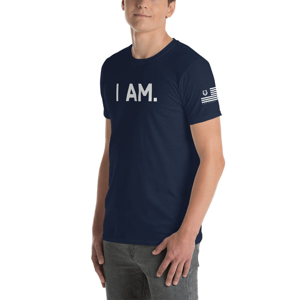 I AM. Short-Sleeve Unisex T-Shirt