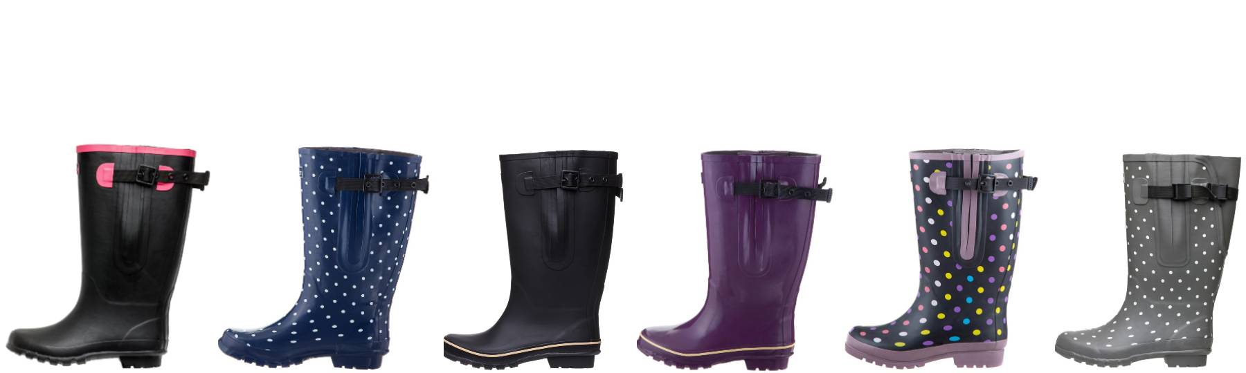 Wide Calf Rain Boots that Fit Curves