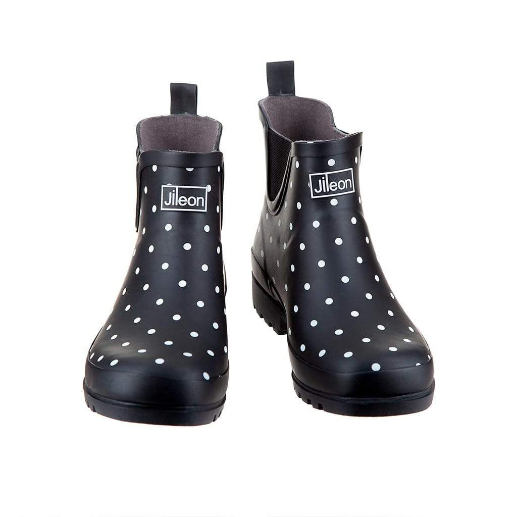 Ankle Rain Boots - Fit Wide Foot