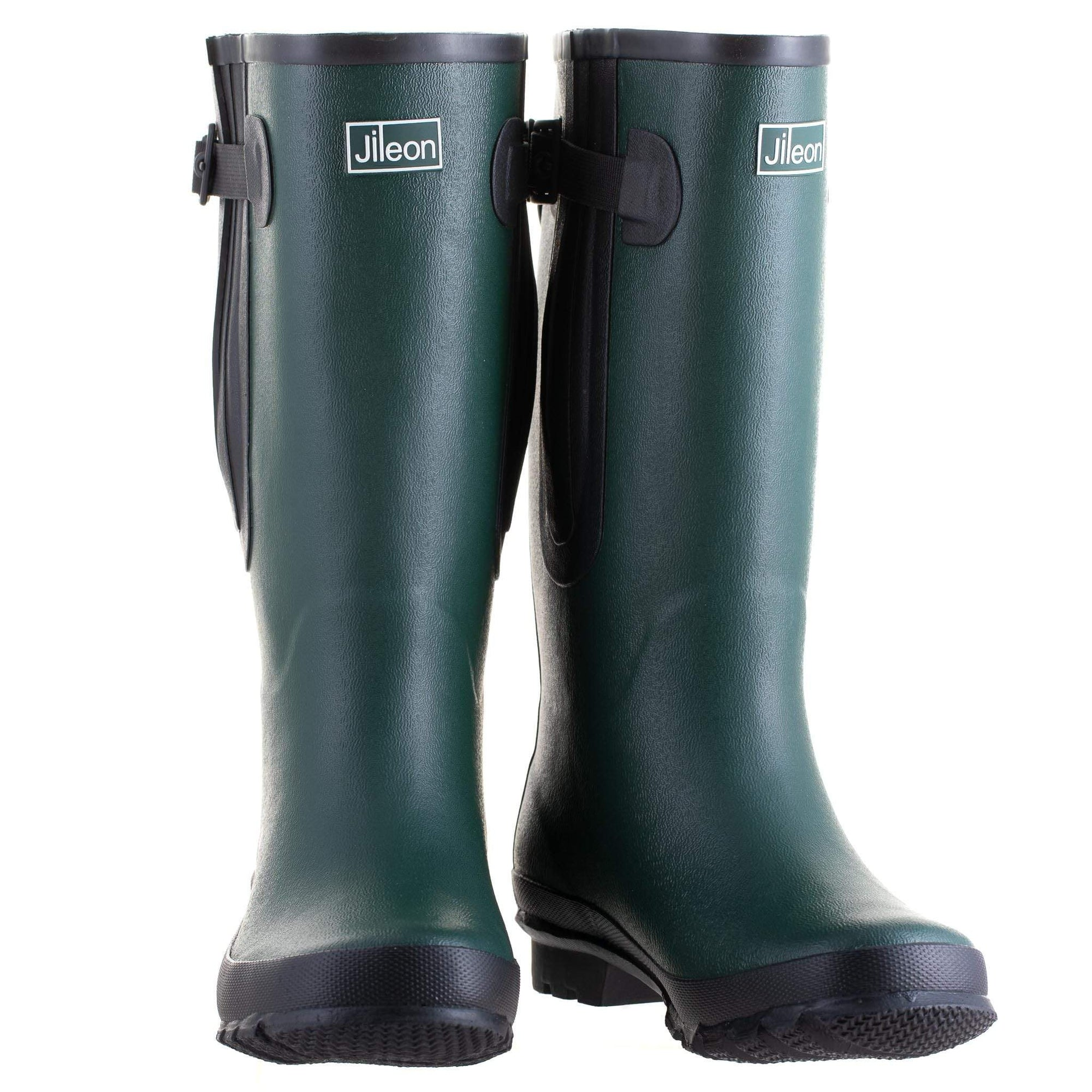Extra Wide Calf Womens' Rain Boots - Green - Up to 23 Inch Calf Widest Calf Rain Boots in US