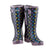 Extra Wide Calf Womens' Rain Boots - Spotty - Up to 23 Inch Calf Widest Calf Rain Boots in US