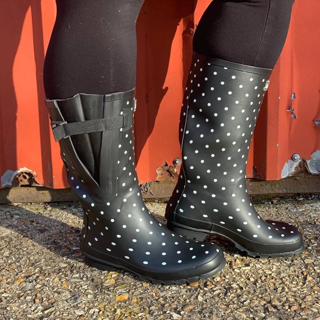 Wide Calf Rain Boots - Up to 19 inch