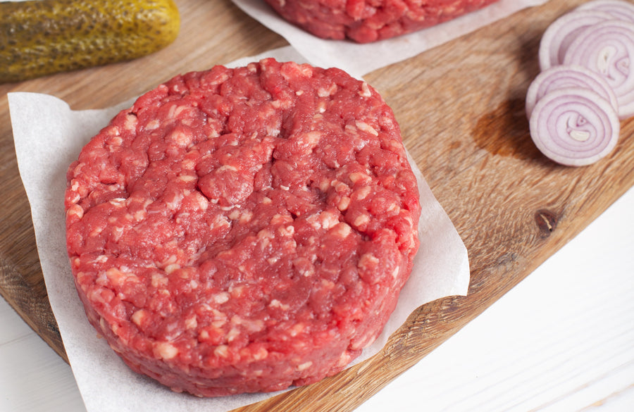 (€2.95/100g) Steak Burger Donald Russell XXL - 220g (tk)