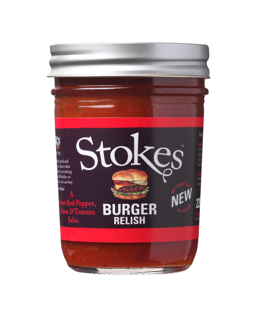 Stokes Burger Relish - MySteakShop.de