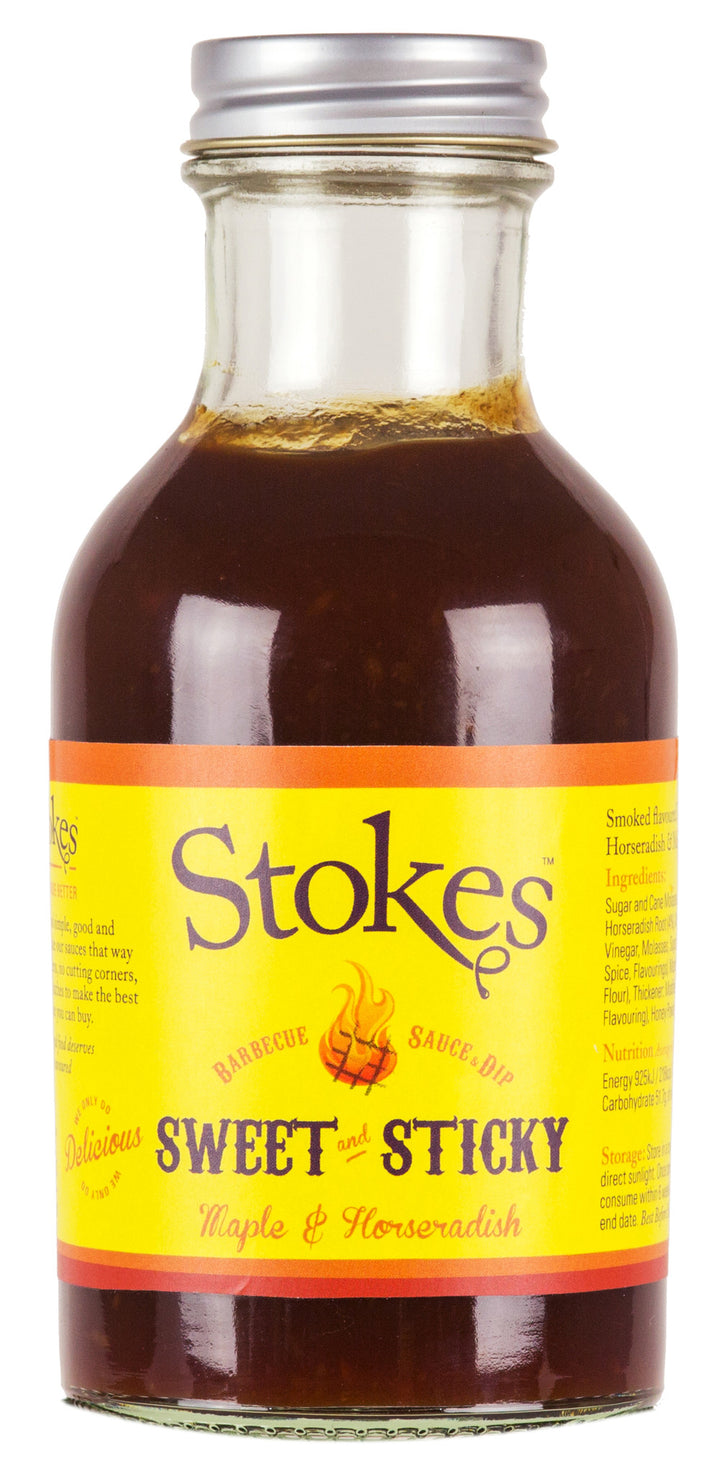Stokes Sweet & Sticky BBQ Sauce & Dip