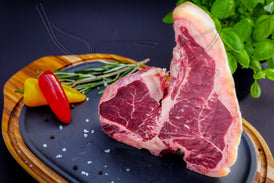"Porterhouse Steak Hereford-Prime ""Irisch Natur"""