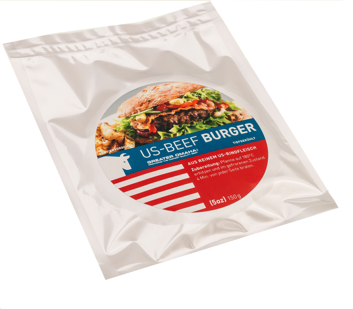 Greater Omaha Nebraska U.S. Burger - 150g