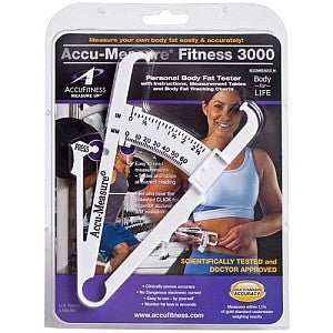 Drop Set Fitness UK, AccuFitness Accu-Measure Fitness 3000 Personal Body Fat Tester, Accessories, AccuFitness