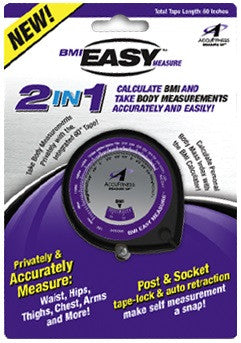 Drop Set Fitness UK, AccuFitness BMI Easy Measure BMI Calculator & Body Tape Measure, Accessories, AccuFitness