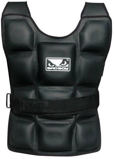 Drop Set Fitness UK, Bad Boy Apparel Weighted Vest, Weighted Vest, Bad Boy Apparel