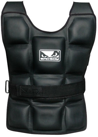 Bad Boy Apparel Weighted Vest - Outdoor Fitness Equipment