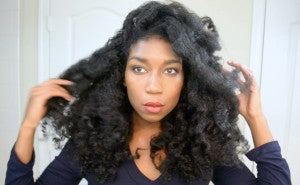naptural85, whitney, youtube, blogger, natural hair, vlogger, length check, healthy hair, curls, naptural