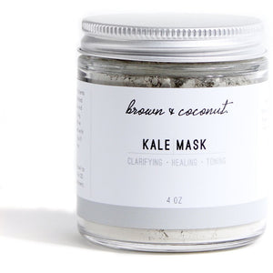 Healing Kale Face Mask